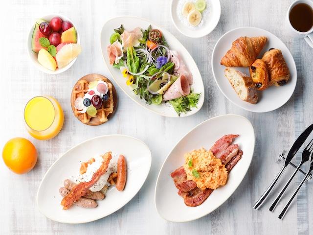 オリエンタルホテル ユニバーサル・シティ 朝食例