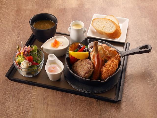 ホテルレンブラントスタイル札幌 朝食 洋定食