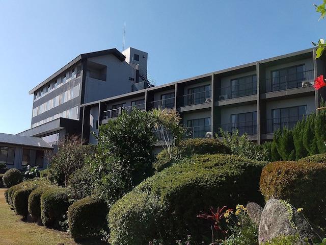 屋久島グリーンホテル 外観(昼)